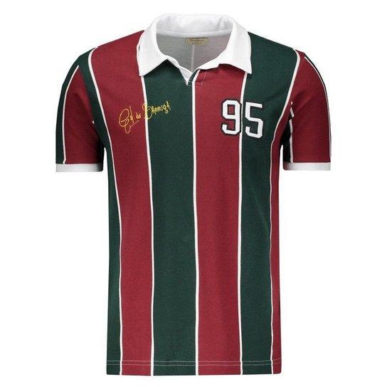 Camisa Retrômania Fluminense 1995 Masculina - Vermelho e Verde ... 484eb49181cfe