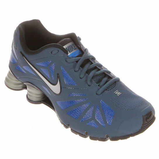 low priced 318b6 78f52 Tênis Nike Shox Turbo 14 - Marinho+Azul