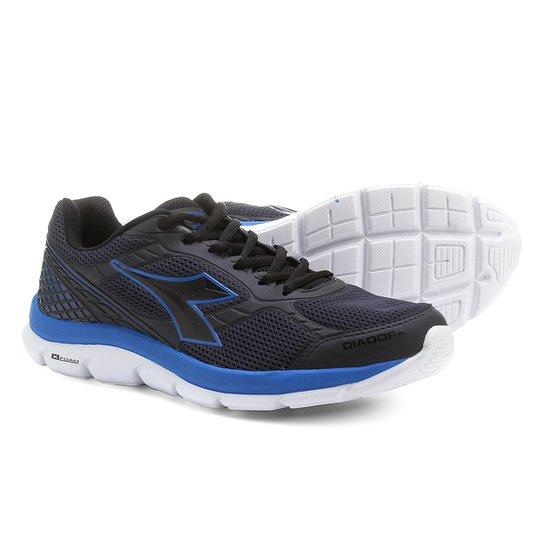 d7a4863ab26 Tênis Diadora Strong Masculino - Marinho e Azul - Compre Agora ...