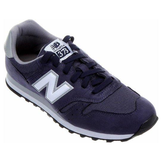 9a6ebe21c Tênis New Balance 373 Retrô - Marinho+Azul