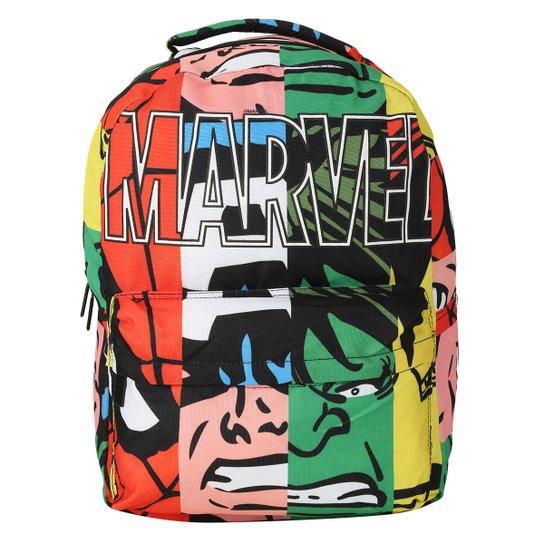 6ea3da5785e Mochila Costas Teen Marvel Faces - Compre Agora   Netshoes