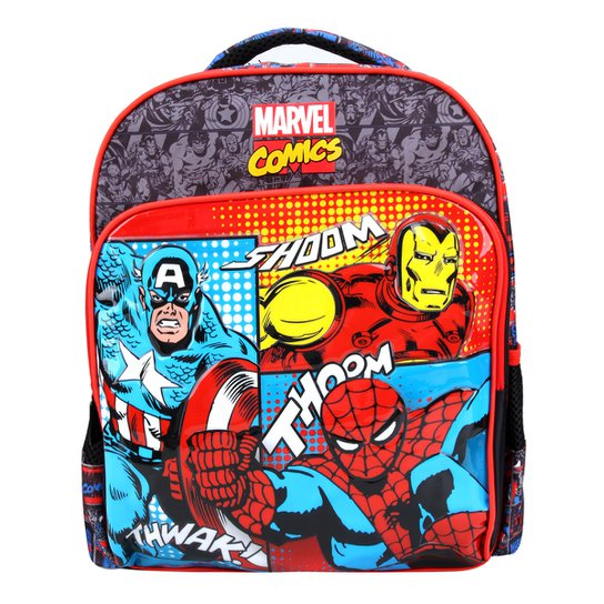 781a589fc08 Mochila Infantil Xeryus Marvel Comics Universe - Compre Agora   Netshoes