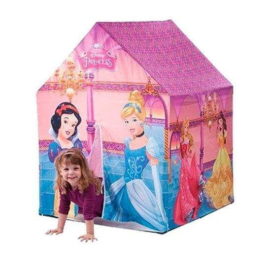 Barraca Das Princesas Castelo Infantil Cabana Toca Infantil Meninas  Encantada - Colorido 0d6c58b435b