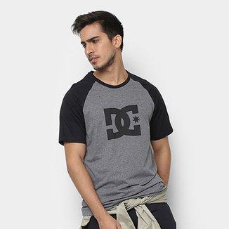 5da4a9ce4c85c Camiseta DC Shoes Raglan Star Masculina