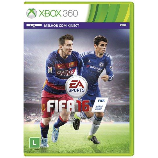 Jogo Fifa 16 Xbox 360 - Compre Agora  08e644b829c03
