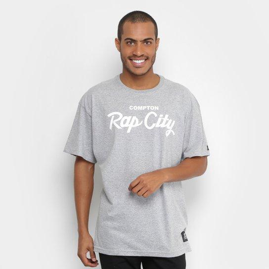 Camiseta Starter Compton Rap Masculina - Mescla - Compre Agora ... f0999aa7de8