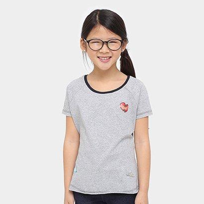 Camiseta Disney Bela Patches Infantil