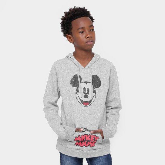 Moletom Infantil Disney Mickey Mouse Capuz Masculino - Compre Agora ... 5d1cac513e1