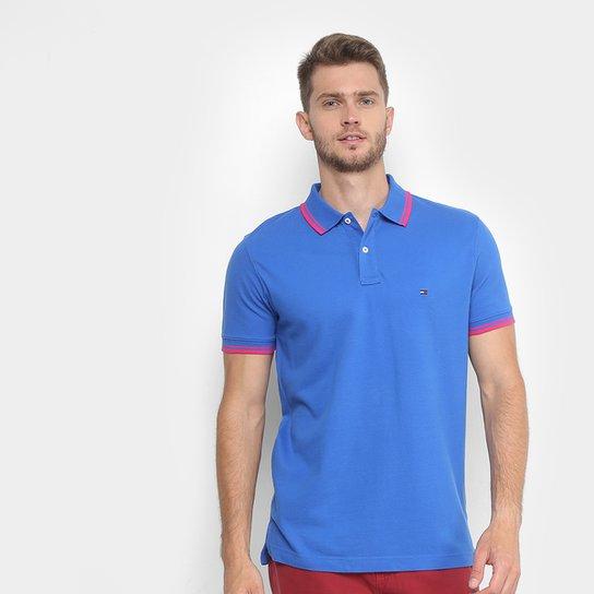 81956c8e4f Camisa Polo Tommy Hilfiger Básica Friso Masculina - Compre Agora ...