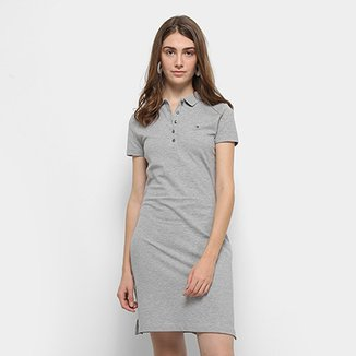 658bd74554 Vestido Polo Tommy Hilfiger New Chiara Polo Dress