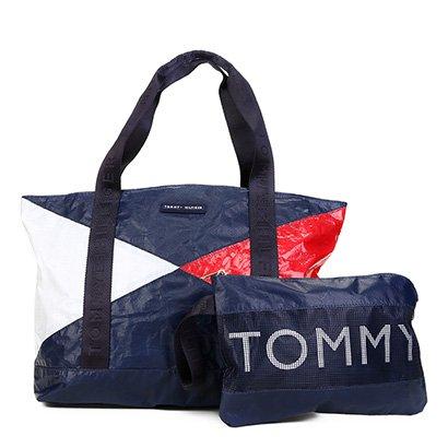 Bolsa Tommy Hilfiger Shopper Pouch Color Block Feminina