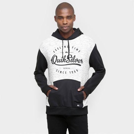 Moletom Quiksilver Especial City c  Capuz - Compre Agora   Netshoes 112e9ae490