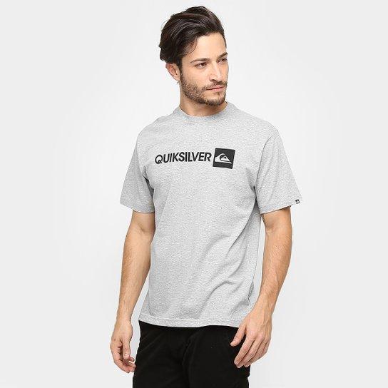Camiseta Quiksilver Básica Institucional - Compre Agora  10d5e2fd997