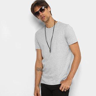 Camiseta Básica Diesel com Fenda Masculina f1538636326