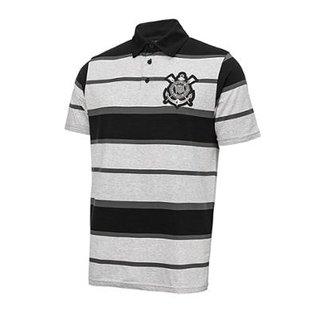 a219dfcc85fd1 Camisa Polo Corinthians Listrada Masculina