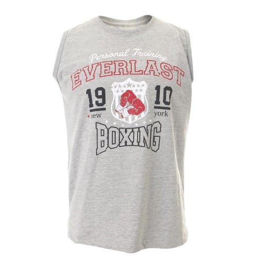 Camiseta Everlast Algodão Machão Básica - Mescla - Compre Agora ... 0c44219b5c7e0