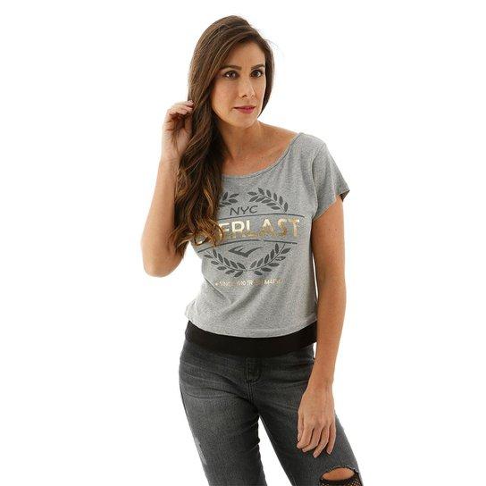 abb3d15748 Blusa Feminina Everlast - Mescla - Compre Agora
