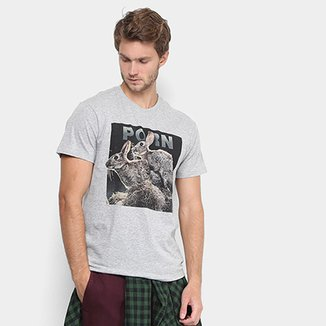 3de90a3ca6 Camiseta Reserva Estampada Masculina