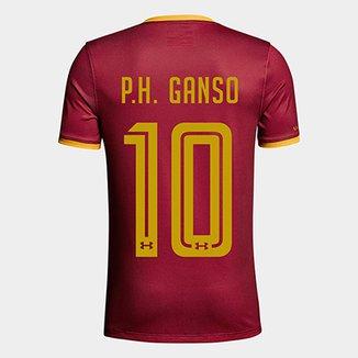 Camisa Fluminense III 17 18 P.H. Ganso nº 10 - Torcedor Under Armour  Masculina cb18cb12a063b