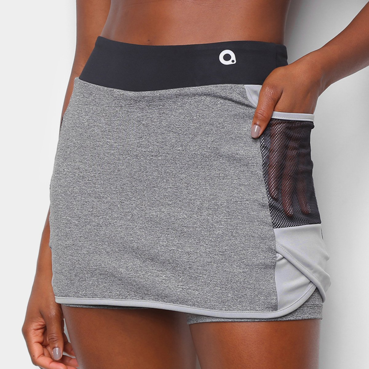 Short Saia Área Sports Bang Lateral Transpassado