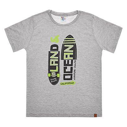 Camiseta Juvenil Pulla Bulla Malha Skate Masculina
