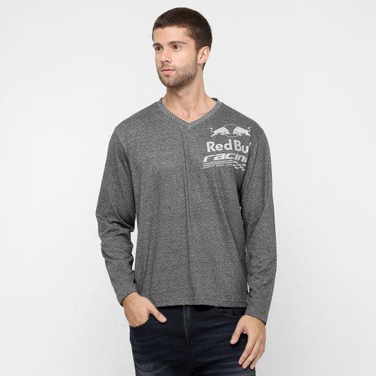 5ae9b1f9d242f Camiseta Red Bull Sc Long Sleeve Mono M L - Compre Agora