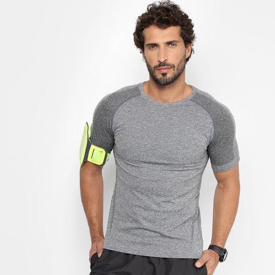 Camiseta Gonew Seamless Masculina - Mescla - Compre Agora  f6e1ec5c1f0
