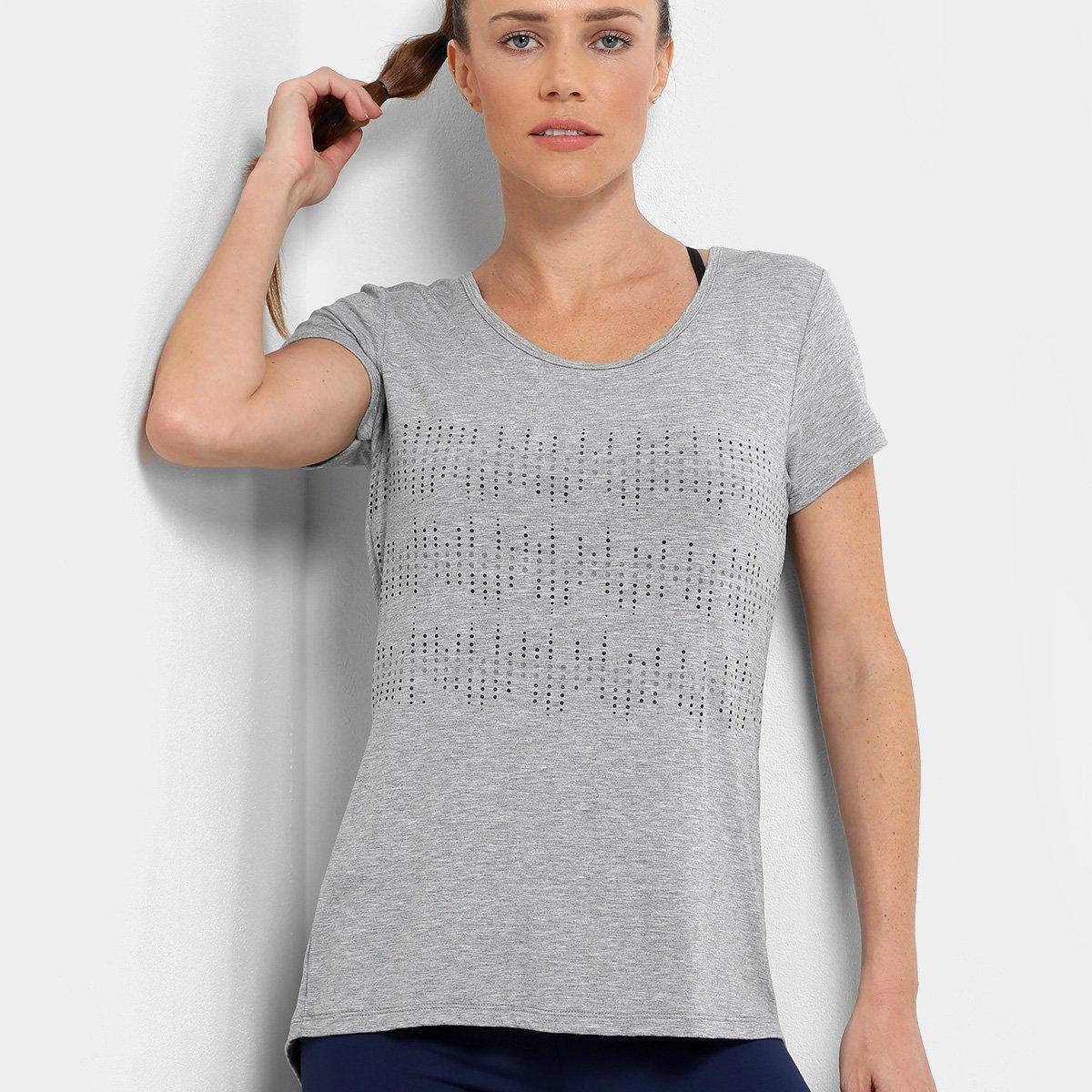 Camiseta Gonew Wrk Out Abertura Costas Feminina - 3