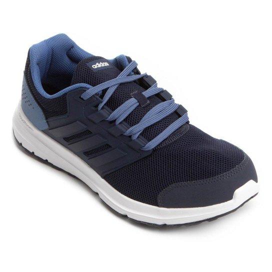 918ac8c4af3 Tênis Adidas Galaxy 4 Masculino - Marinho e Azul - Compre Agora ...