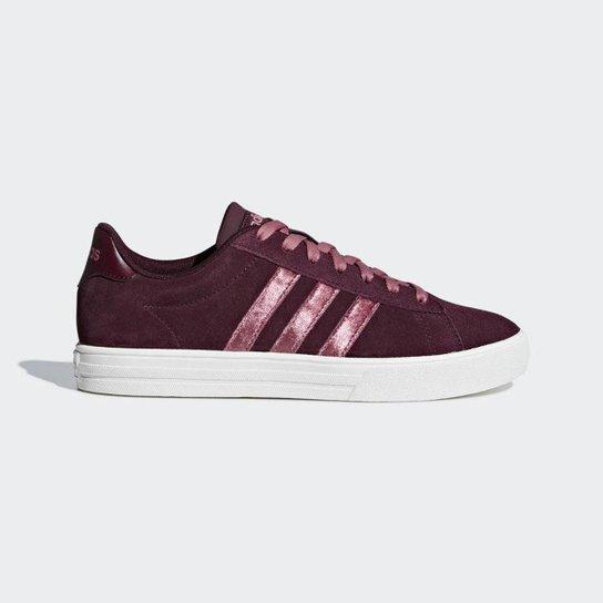 Tênis Adidas Daily 20 Feminino - Bordô - Compre Agora  9b0cc2bb3782b