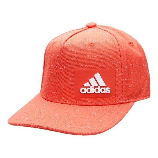 Boné Adidas H90 Melange Aba Reta - Laranja e Branco - Compre Agora ... 1c2f456b893