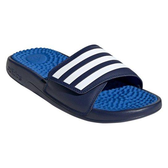 3f97b0ca3 Chinelo Adidas Slide Adissage - Marinho e Azul - Compre Agora