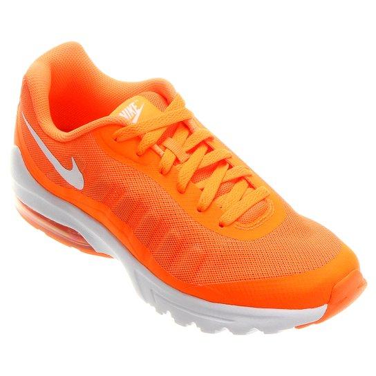 outlet store e3e6a 5b242 Tênis Nike Air Max Invigor Masculino - Laranja+Branco