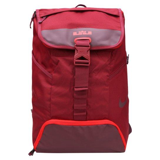 e15710cb0 Mochila Nike Lebron Max Air Ambassador BP 2.0 - Vermelho Escuro