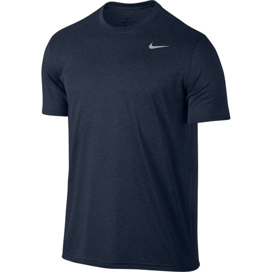 bb647a97f9 Camiseta Nike Legend 2.0 Ss Masculina - Marinho e Cinza - Compre ...