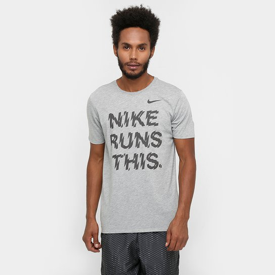 468e409289 Camiseta Nike Dri-Fit Runs This Masculina | Netshoes