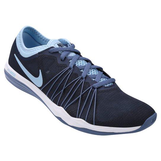 a9103f5b8 Tênis Nike Dual Fusion TR Hit Feminino - Marinho+Azul