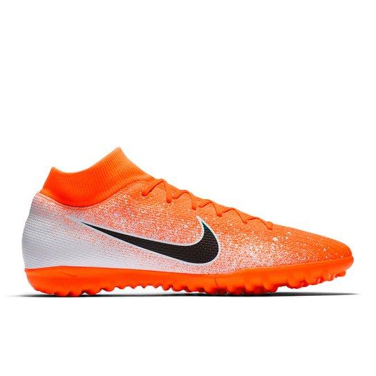04927ae867160 Chuteira Society Nike Mercurial Superfly 6 Academy - Laranja+Branco