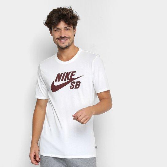 Camiseta Nike Sb Logo Masculina - Bordô - Compre Agora  7c38a23263db8