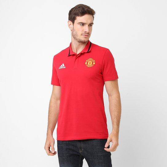 6b203d2fc7a07 Camisa Polo Adidas Manchester United - Compre Agora