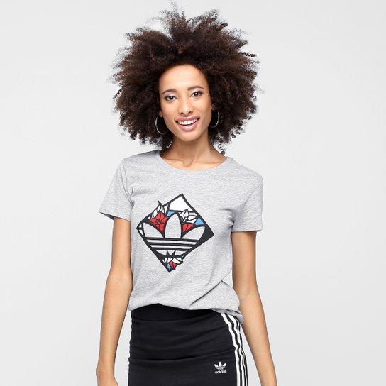 2e34cc0563d Camiseta Adidas Originals Mash Up Trefoil - Compre Agora