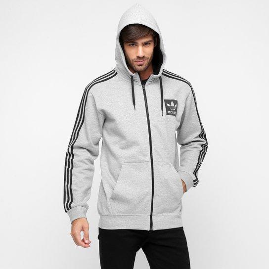 bae575bd6fc Moletom Adidas Originals Street New FZ c  Capuz - Compre Agora ...
