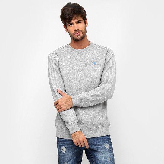 fac863dc2b7 Moletom Adidas Originals Classic Trefoil Crew - Compre Agora