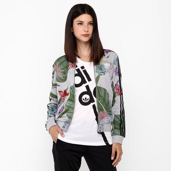 f90ddc46ec6 Jaqueta Adidas Originals Train Floral TT - Compre Agora