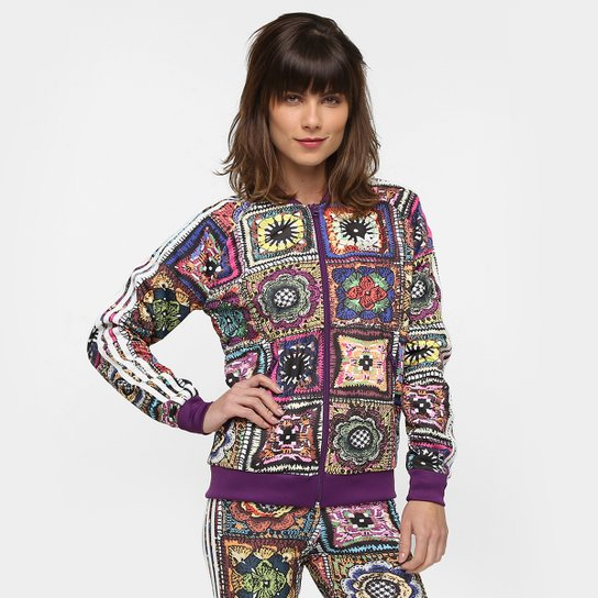 86eb39dc371 Jaqueta Adidas Originals Crochita Supergirl Tt - Compre Agora
