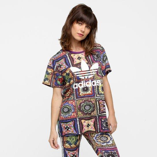 e1c8260b076 Camiseta Adidas Originals Crochita - Compre Agora