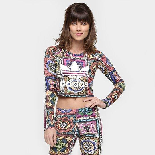 c1a58b6d917 Camiseta Adidas Originals Crochita M L - Compre Agora