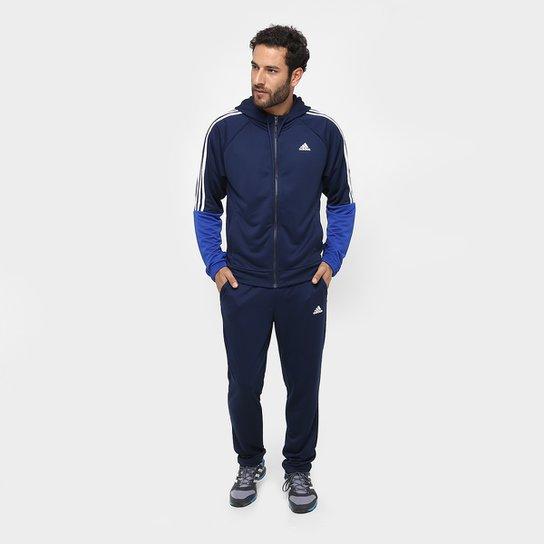 d192bccb7cf Agasalho Adidas Refocus Masculino - Marinho e Azul - Compre Agora ...