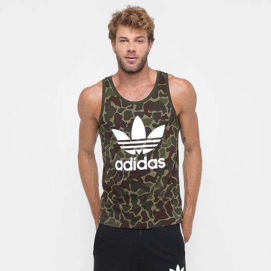 Camiseta Regata Adidas Camo - Compre Agora  fca97d00062