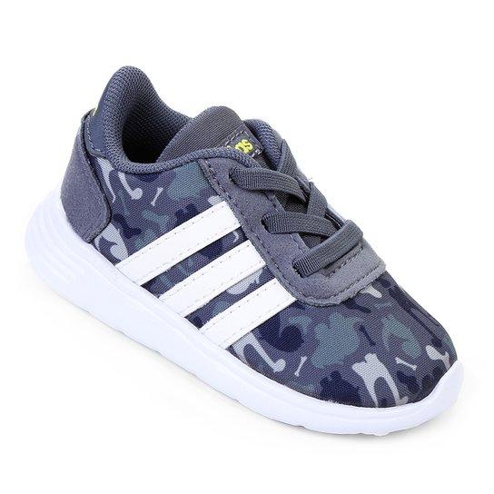 3ab69de1d9a Tênis Adidas Lite Racer Infantil - Marinho e Azul - Compre Agora ...